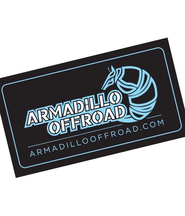 Armadillo Offroad Sticker